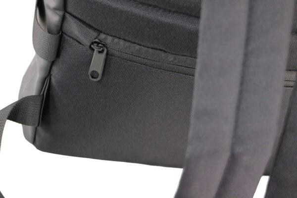 Sicherheitsfach mit Reißverschluss im Rücken